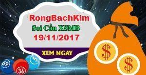 soi cầu xsmb siêu chuẩn xác ngày 19-11-2017
